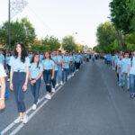 Bajada y procesión